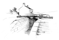 Lock gates sketch