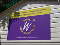 Witney tennis club logo